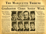Headlines of The Marquette Tribune, 1936