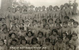 Girls of Holy Rosary Mission, 1 of 2, 1914