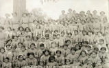 Girls of Holy Rosary Mission, 2 of 2, 1914
