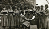 Holy Rosary Mission girls' choir, 1921