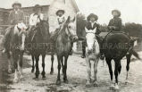 Lakota boys on horseback, n.d.