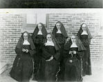 First members of the community of Sisters of St. Francis of Penance and Christian Charity, n.d.