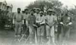 Coach Clifford and boys' baseball team, 1 of 2, n.d.