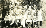 The baking crew -- Jesuits and boys, n.d.