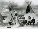 Postumous induction ceremony for Chief Red Cloud, 1966