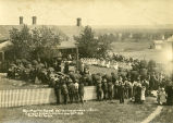 Catholic Sioux Congress attendees at rectory, 2 of 2, 1910