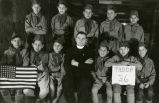 Boy scouts and Peter Price, S.J., n.d.