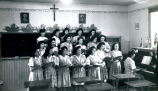 High school student choir, n.d.