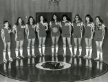 Girls' high school basketball team, 1976