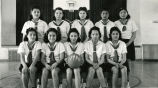 Girls' basketball team, 1940