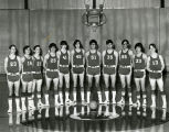 Boys' high school basketball team, 1973