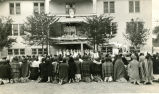 Corpus Christi celebration at Red Cloud Hall, n.d.