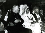 Dignitaries at 75th Jubilee celebration, 1963