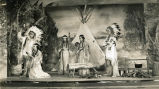 "Students performing ""Lily of the Mohawks,"" 1938"