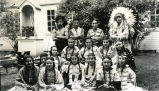 "Cast of ""Lily of the Mohawks,"" 1938"
