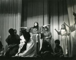 Student actors performing, 2 of 2, n.d.
