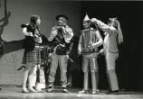 "Student actors in ""The Wizard of Oz,"" n.d."