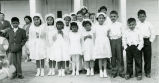 First communion class, 1973