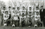 High school football team, n.d.