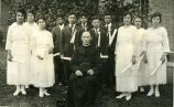 Graduates with Father Goll, S.J., 1921