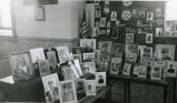Display of former students serving in the United States armed forces, 1 of 2, n.d.