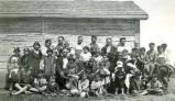 Father P.F. Sialm, S.J., and congregation, n.d.