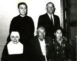 John Bryde, Ben Black Elk, Sister Serena Hehehan, O.S.F., and others, n.d.