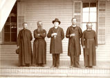Bishop Lawler and priests, n.d.
