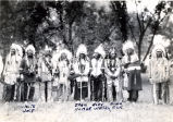 Native American war veterans at Little Bighorn 50th anniversary, 1926