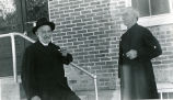 Father Eugene Buechel, S.J., and Brother Peter Gross, S.J., 1952
