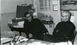 Father Lambeck, S.J., and unidentified Jesuit, n.d.