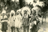 Native war veterans at Little Bighorn 50th anniversary, 1926