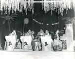 Musical band performing at prom, n.d.