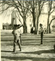 Boys playing baseball, n.d.