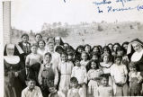 Student body with religious sisters, n.d.