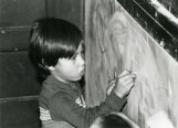 Pre-school boy drawing, n.d.