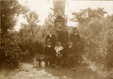 Boys at shrine, n.d.