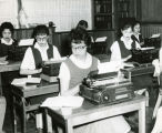 High school typing class, n.d.