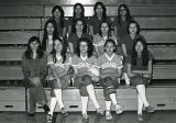 Coach Brewer and girls' volleyball team, n.d.