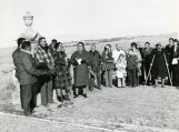 Wounded Knee massacre memorial ceremonies ,2 of 3, 1971