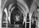 Interior of Holy Rosary church, 2 of 3, n.d.