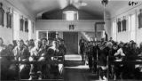 Congregation in church, n.d.