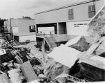 Demolition of Red Cloud Hall, 2 of 2, 1980