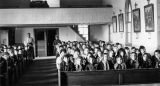 Congregation in Sacred Heart Church, n.d.