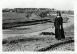 Sister Genevieve Cuny, O.S.F., in the Badlands, n.d.