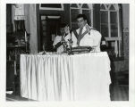 Father Sal Gentle, S.J., celebrating mass, undated