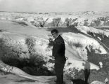 Father Sal Gentle, S.J., in the Badlands, undated