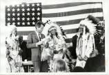 Senator Bobby Kennedy and Oglala leaders, 1968