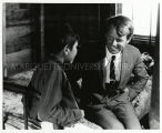 Senator Bobby Kennedy in Oglala home, 1968