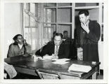 Judge Hobart Kieth at desk, n.d.